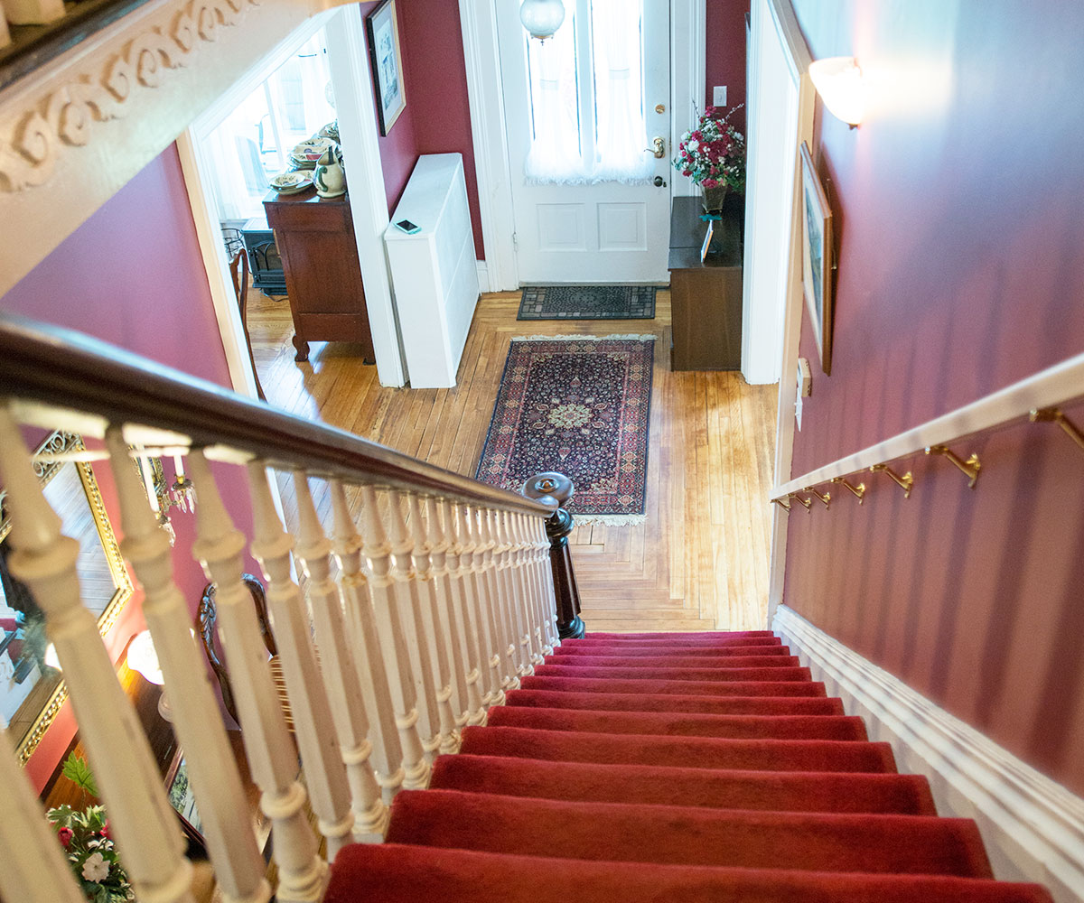 Stairs - Antique & Irish Welch House